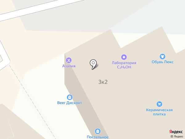 Ирбис на карте Липецка