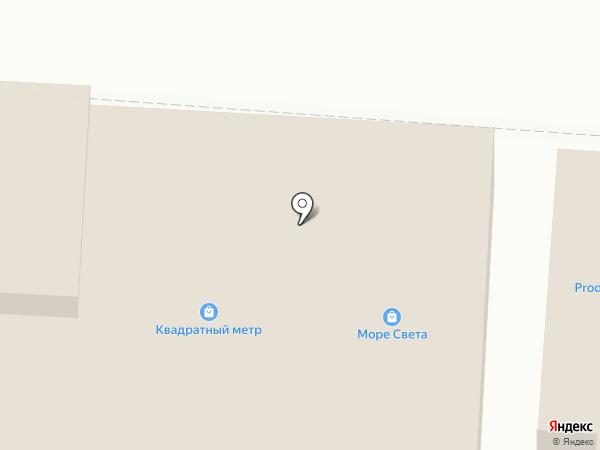 Комплект ЮГ на карте Ростова-на-Дону