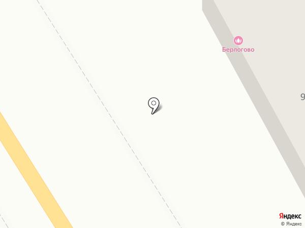 Автомойка на Особенной на карте Ростова-на-Дону