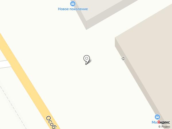 Бош Авто Сервис на карте Ростова-на-Дону
