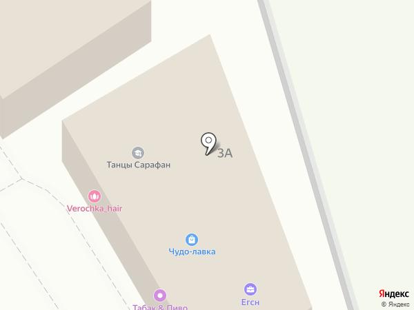 Прасковейский на карте Ростова-на-Дону