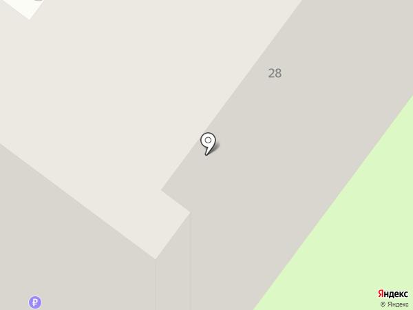 Общежитие на карте Молочного
