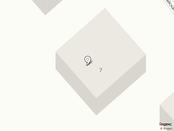 Донской на карте Койсуга