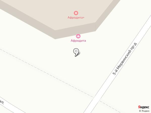 Афродита на карте Рязани