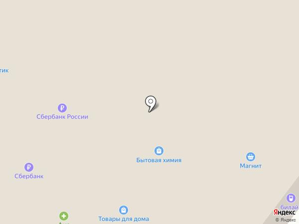 Банкомат, Банк Северный КРЕДИТ на карте Молочного