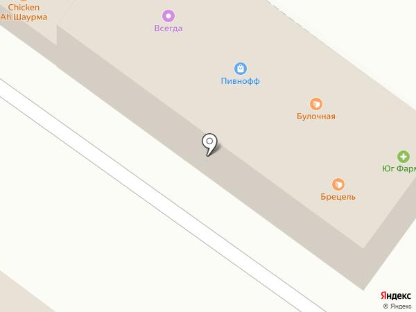 Квартал на карте Ростова-на-Дону