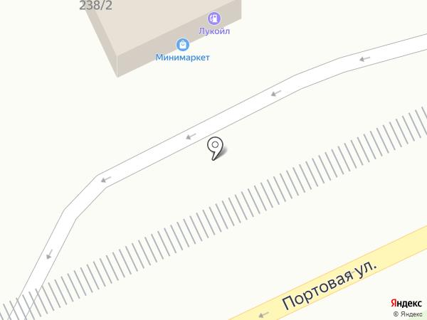 АЗС ЛУКОЙЛ на карте Ростова-на-Дону