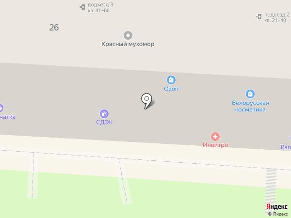 Магазин детских игрушек на карте Ростова-на-Дону