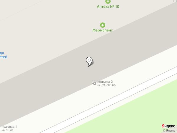 Лик на карте Ростова-на-Дону