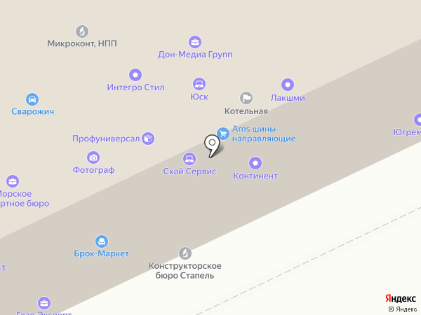 Бизнес Интегратор на карте Ростова-на-Дону