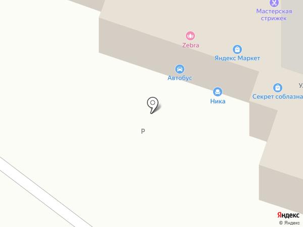 Секрет соблазна на карте Рязани