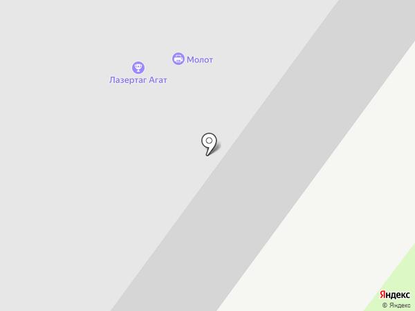 Горн на карте Ростова-на-Дону
