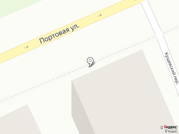 Гастроном №1 на карте Ростова-на-Дону