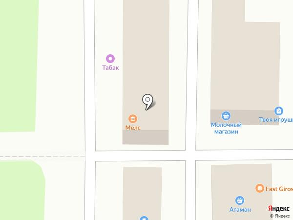 Гастрономъ на карте Ростова-на-Дону
