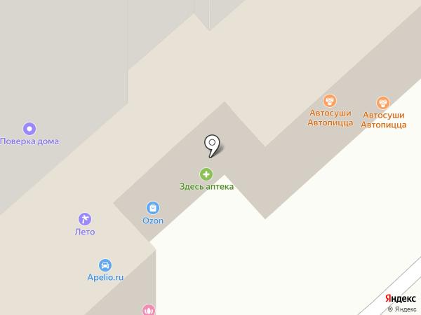 Автопицца на карте Рязани