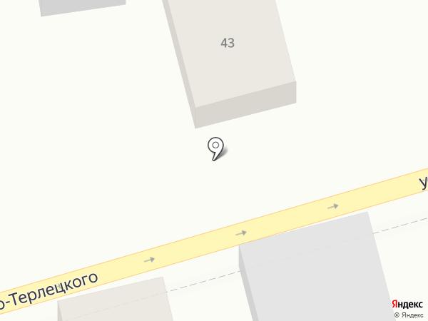 Продуктовый магазин на карте Ростова-на-Дону