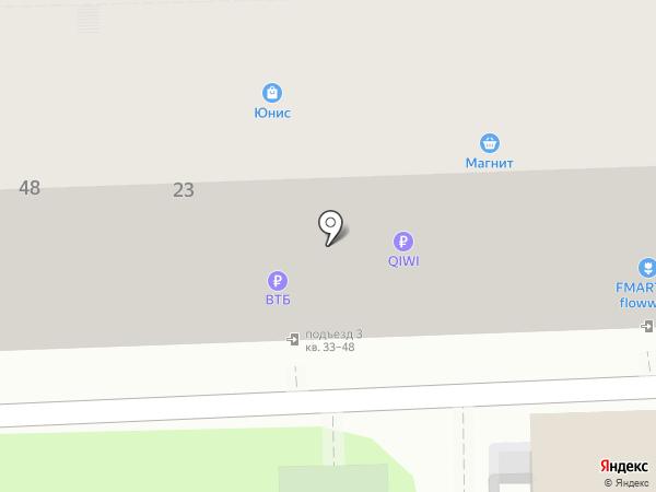 Биржа на карте Ростова-на-Дону