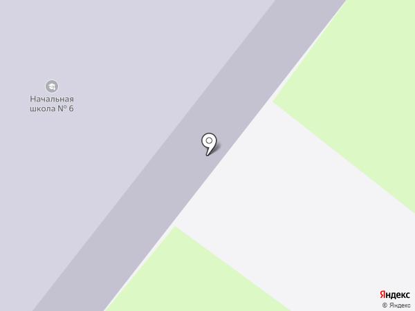Средняя общеобразовательная школа №6 на карте Молочного