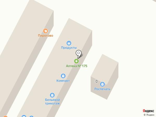 Трешка на карте Рязани