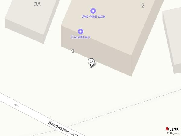 ВипКомСервис на карте Ростова-на-Дону