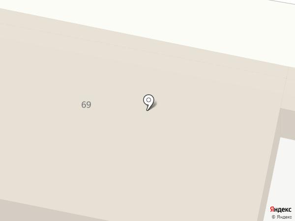 Донсат на карте Ростова-на-Дону