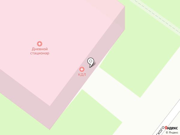 Городская поликлиника №5 на карте Молочного