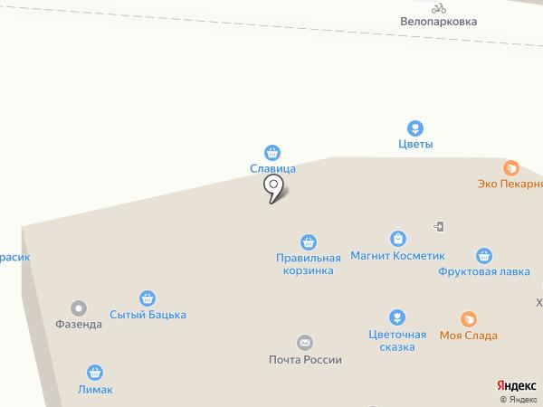 Абсолют на карте Липецка