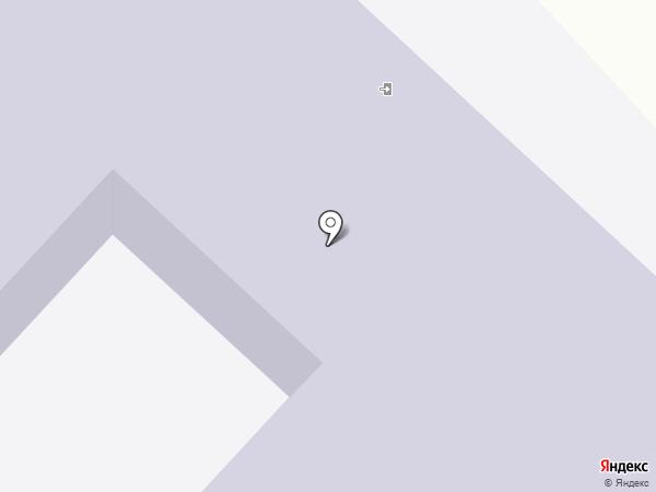 Средняя общеобразовательная школа №6 на карте Батайска