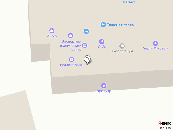 Форт плюс на карте Ростова-на-Дону