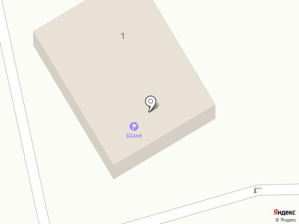 Шахе на карте Сочи