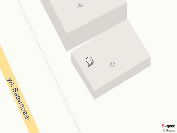 Визит на карте Ростова-на-Дону