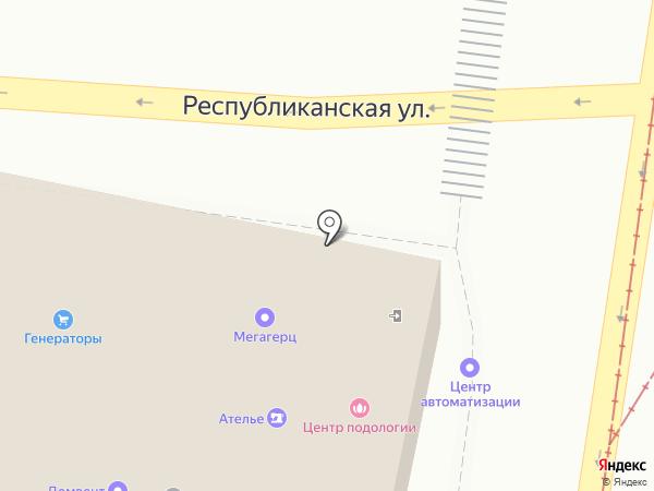 Центр автоматизации малого бизнеса Ростов на карте Ростова-на-Дону