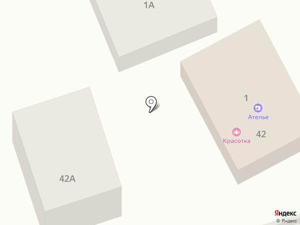 Красотка на карте Ростова-на-Дону