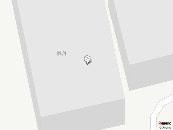 Пункт автосервиса на карте Ростова-на-Дону