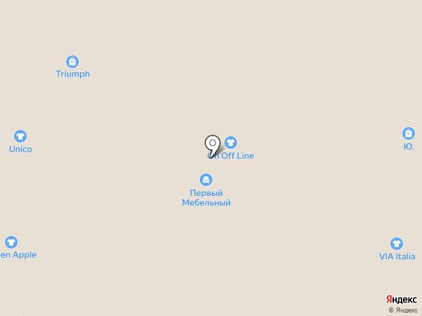 Остров детства на карте Рязани