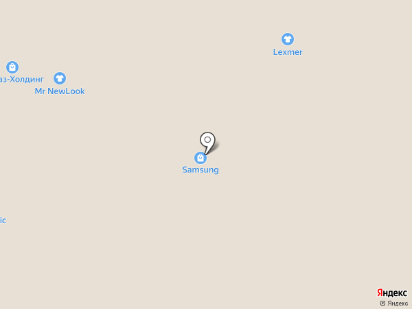 Клумба на карте Рязани