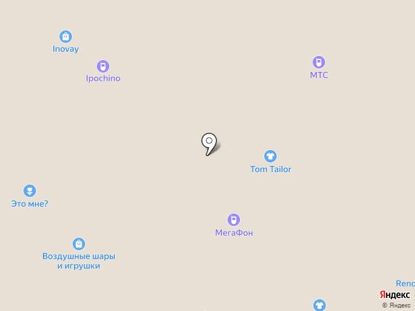 Рандеву на карте Рязани