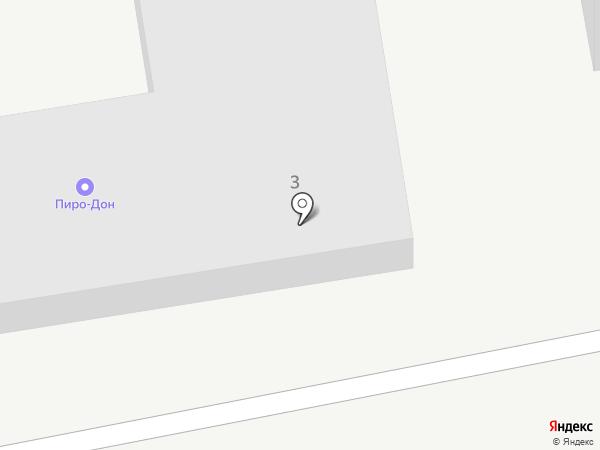 Сеть магазинов салютов на карте Ростова-на-Дону