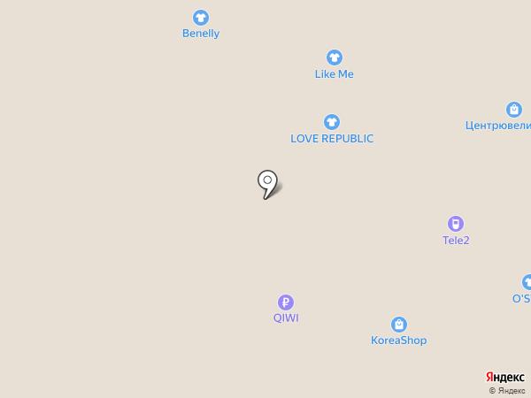 Автодевайс на карте Рязани