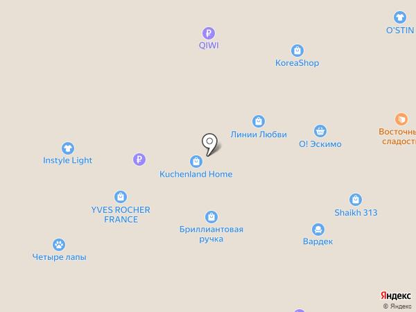 Детский мир на карте Рязани