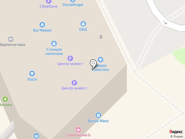 Малибу на карте Ростова-на-Дону