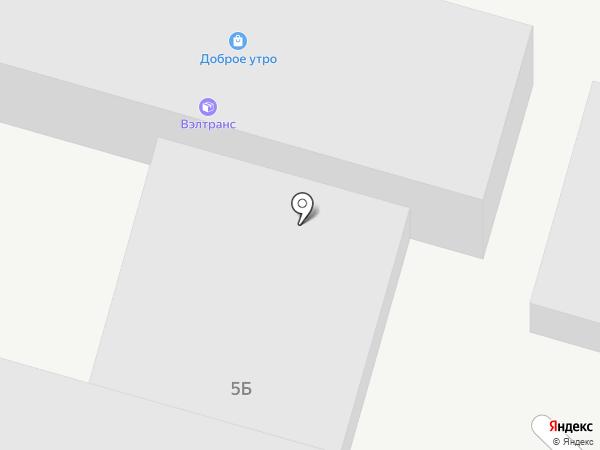 Доброе утро на карте Ростова-на-Дону