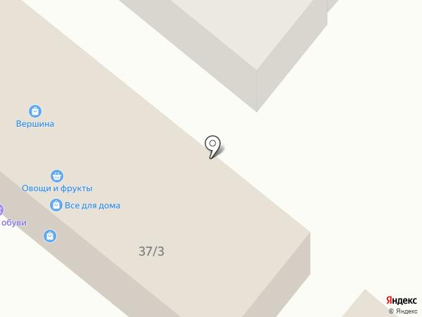 Молоток на карте Батайска
