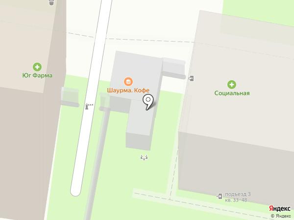 Tony`s burger на карте Ростова-на-Дону