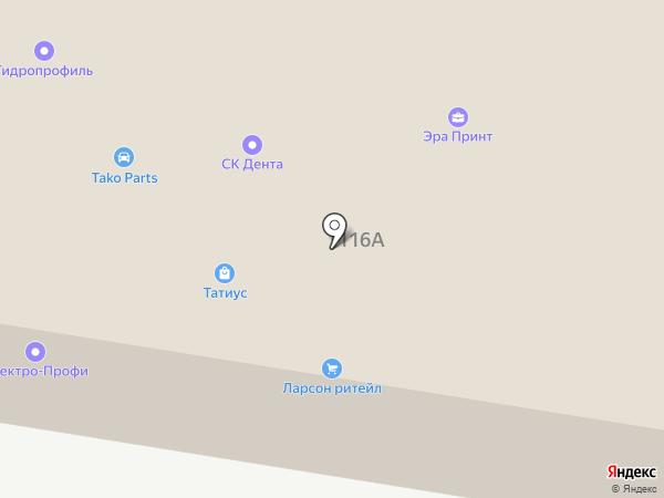 Акко на карте Ростова-на-Дону