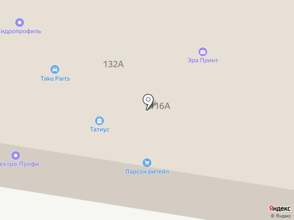 Альянс Телеком на карте Ростова-на-Дону