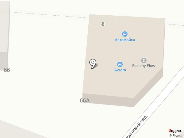 Дизель на карте Ростова-на-Дону