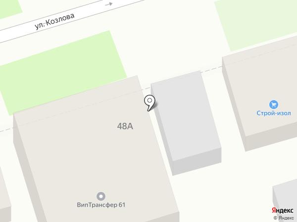Южный литейный завод на карте Ростова-на-Дону