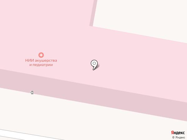 Родильный дом, РНИИАП на карте Ростова-на-Дону