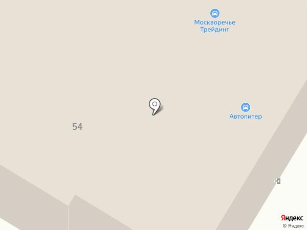 Москворечье Трейдинг на карте Рязани